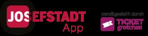 josefstadt app logo mit ticket gretchen logo